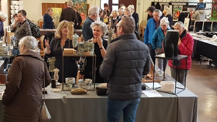 Recordaantal bezoekers op Kunstmarkt